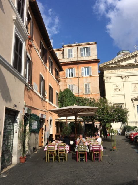 Week-end à Rome …